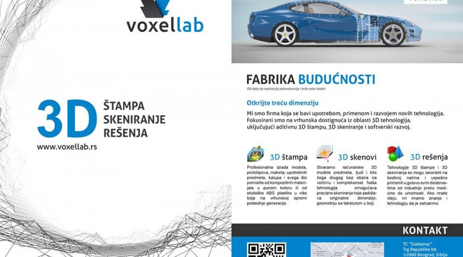 Voxellab the Motor Show
