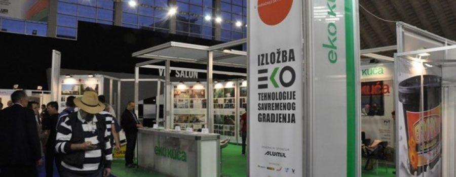 "Mock up model of ""Nulta Kuća""  on the International Construction Fair"