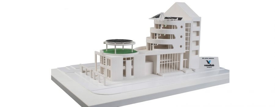 Voxellab mock up model on the 37th Salon of Architecture in Belgrade