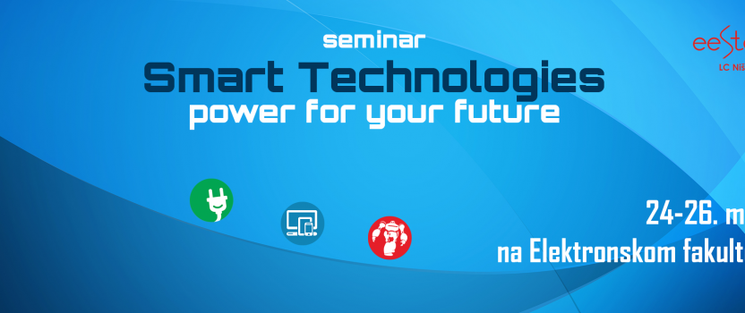 Lecture on Smart Technologies conference in Nis