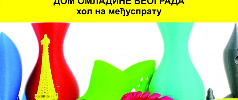 Radionica 3D štampe u Domu omladine Beograda